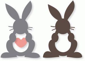 easter bunny w/heart repinned by www.landfrauenverband-wh.de #landfrauen #landfrauen wü-ho #württemberg #hohenzollern