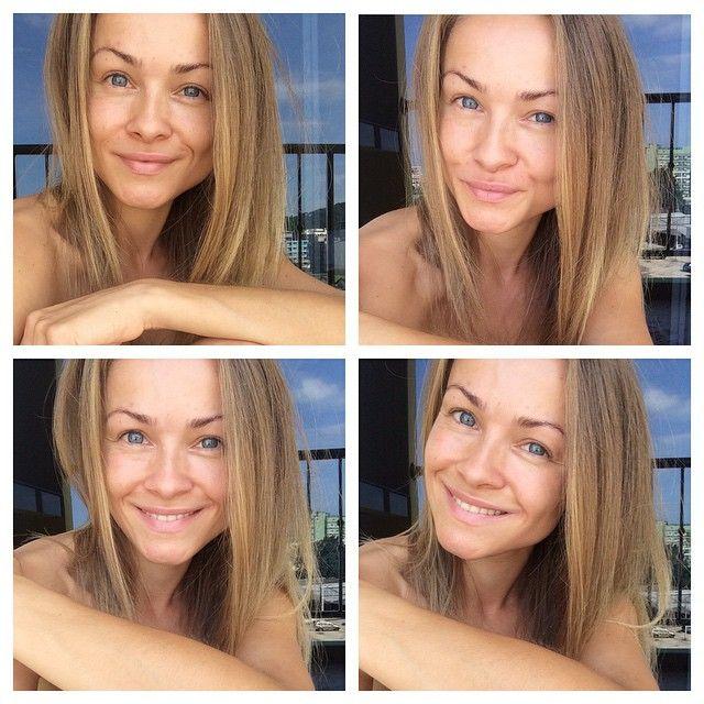Tør du stå i verden præcis som du er?  Jeg elsker dullegrej, makeup, lange negle, lashextensions, stiletter, tøj der fremhæver de få kvindelige former jeg har - men jeg elsker også - at turde stå råt, rent og nøgent i verden!  Vise præcis hvem jeg er, uden alt det! Uden filter, uden hårfarve, uden makeup, uden snyd - men 100 % naturlig og 100 % Karolina.  32 år. Lige væltet ud af sengen - med alt hvad jeg indeholder.