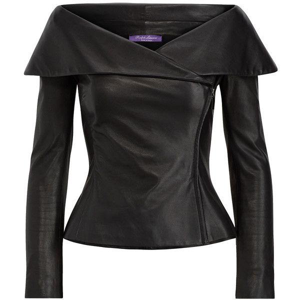 Maxine Nappa Leather Jacket ($2,990) ❤ liked on Polyvore featuring outerwear, jackets and nappa leather jacket