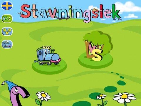 Stavningslek: Hitta gömda bokstäver och stava ord på ett lekfullt sätt.