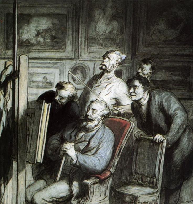 50 best images about daumier on pinterest museums for Devant le miroir manet