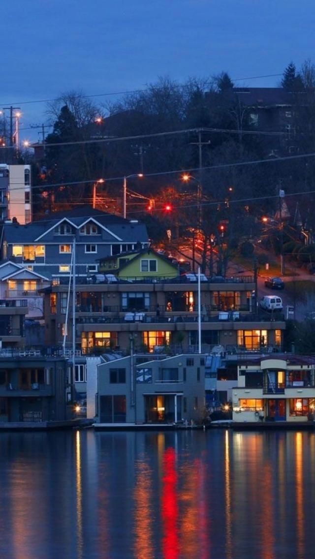 Lake Union,  Seattle, Washington, USA**.  I would love to live on the water.