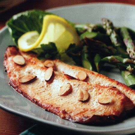 Marinated, Broiled or Grilled Rainbow Trout