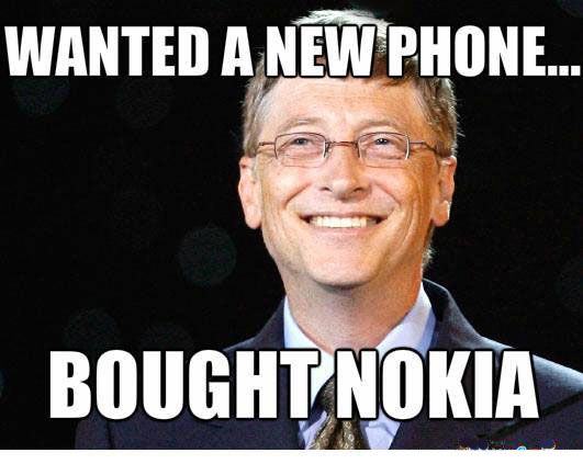 52885268ebf2267c6020827495123778 bill gates bill obrien 7 best funny meme images on pinterest funny memes, funny stuff,Nokia Connecting People Meme