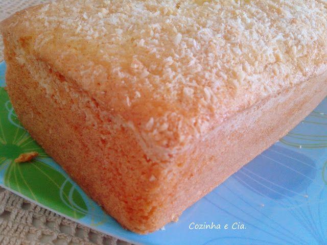 Cozinha e Cia.: Bolo com Gelatina de Abacaxi - Fiz e Gostei!