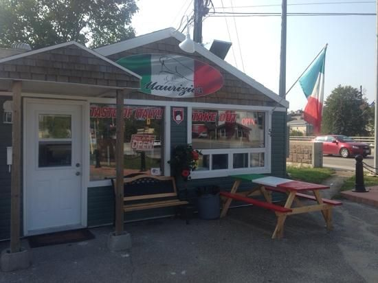Italian Take Out in Parry Sound.  I just love the veal sandwich at Maurizio's.  Getting hungry just thinking about it.