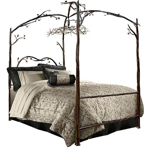 1000 ideas about iron canopy bed on pinterest canopy bedroom canopy beds and modern canopy bed - Reasons choose wrought iron bed ...