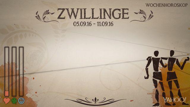 Wochenhoroskop: Zwilling (KW 36 - 2016) - So stehen deine Sterne Kinder Wochen vom 5. - 11.9.2016 #Horoskop #Zwilling #Liebe #Gesundheit #Job