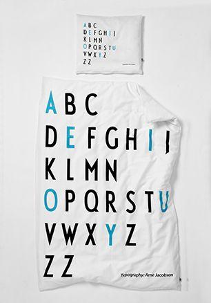 Lækkert junior sengetøj fra Design Letters