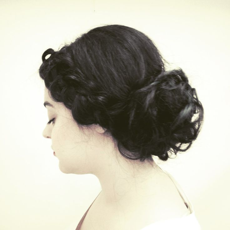 Proffessional Updo with Braid by Daphne