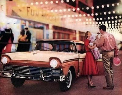 1957 Ford Fairlane at a fair !!! ...
