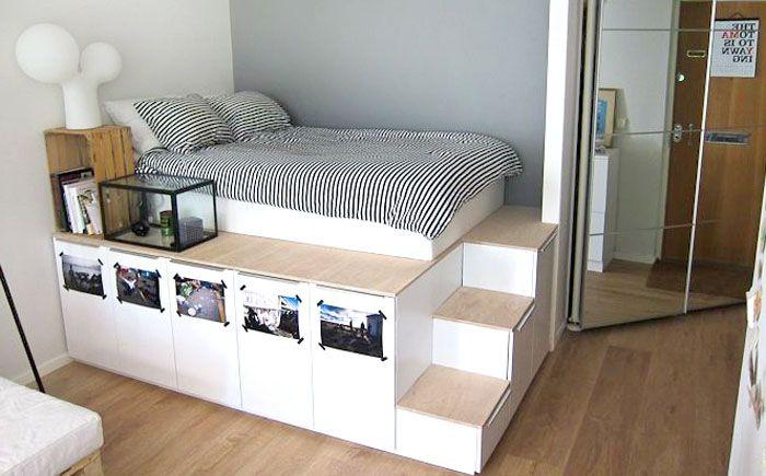 Кровать на платформе