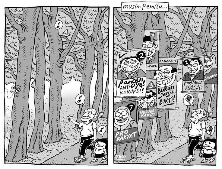 Di Balik Strategi Unjuk Relawan