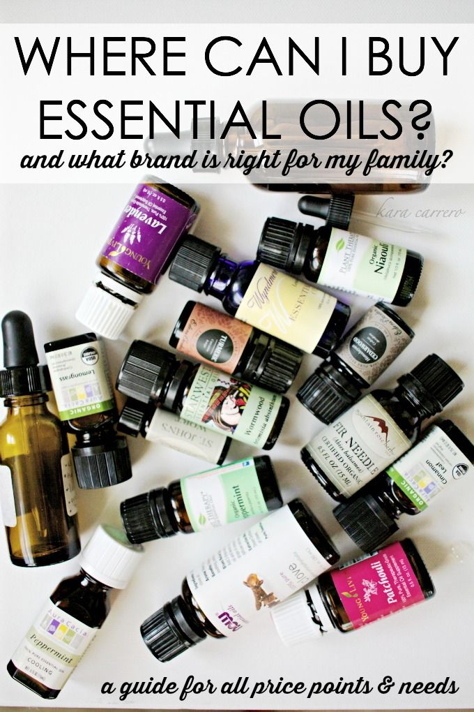 Where to buy essential oils - a guide based on price, quality, and information given by companies.
