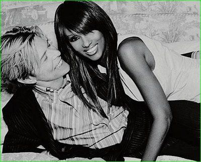 Iman Bowie - love them both. love them together. Beautiful!