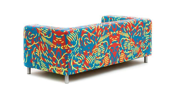 ARTEFLY Ikea Klippan LINE cover