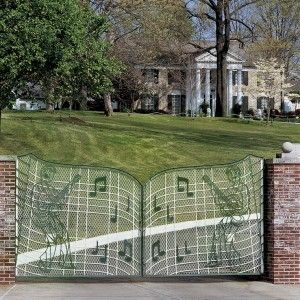 Great memories of going here with my Mom during Elvis wk. Gates of Graceland, Memphis TN - Home of Elvis Presley
