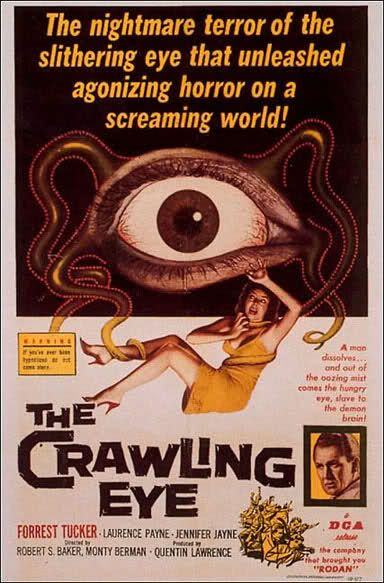 scary movies 1960 | 1960s Horror Movie Posters Into a movie of the same