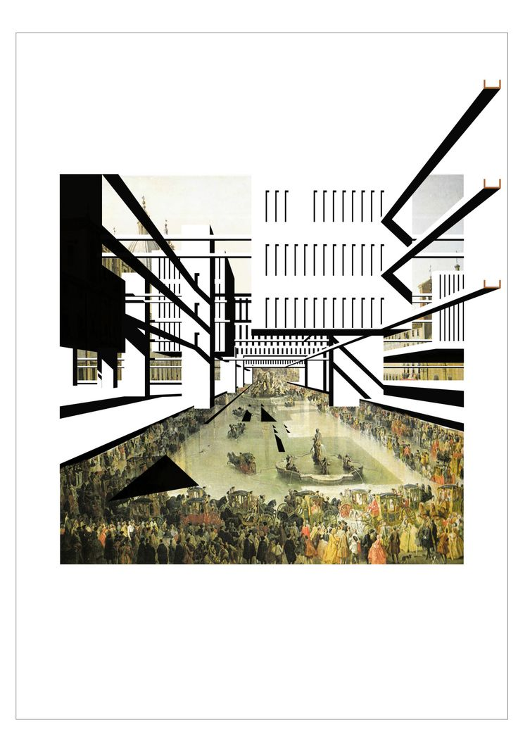 Bonjour toi - drawingarchitecture: Lina Malfona, PIAZZA NAVONA...