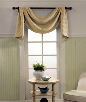 23 best Swags & Valances images on Pinterest | Curtain ideas, Window ...