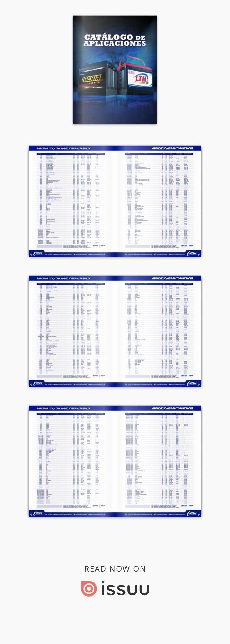 Catalogo De Aplicaciones Catalogo Grand Caravan Baterias Lth