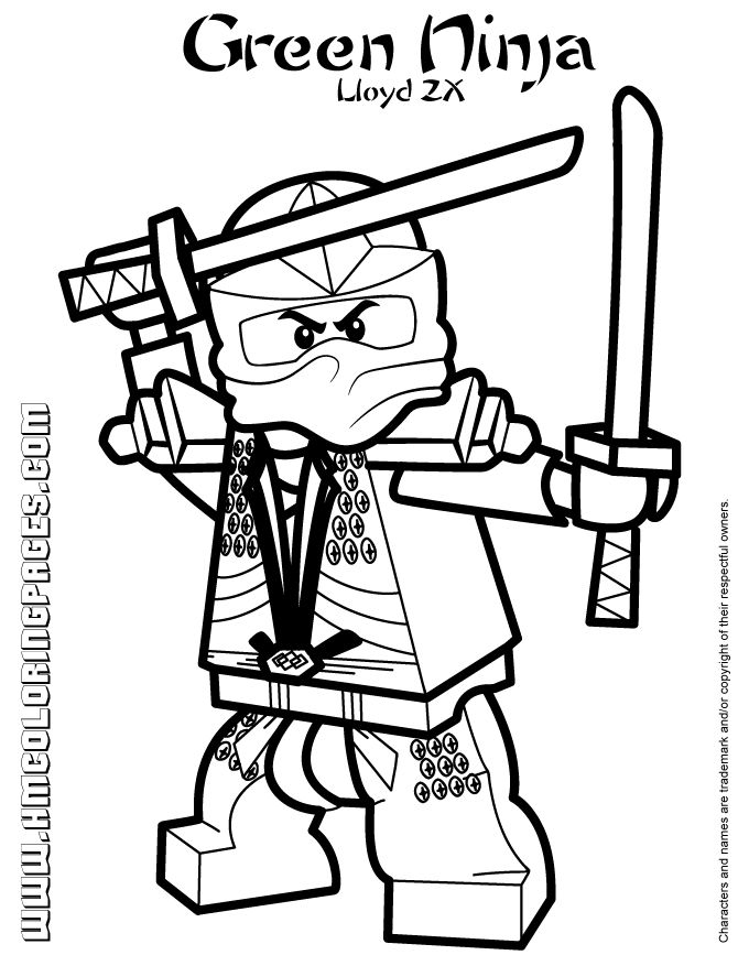 24 best Ninjago coloring images on Pinterest | Lego ninjago, Ninjago ...