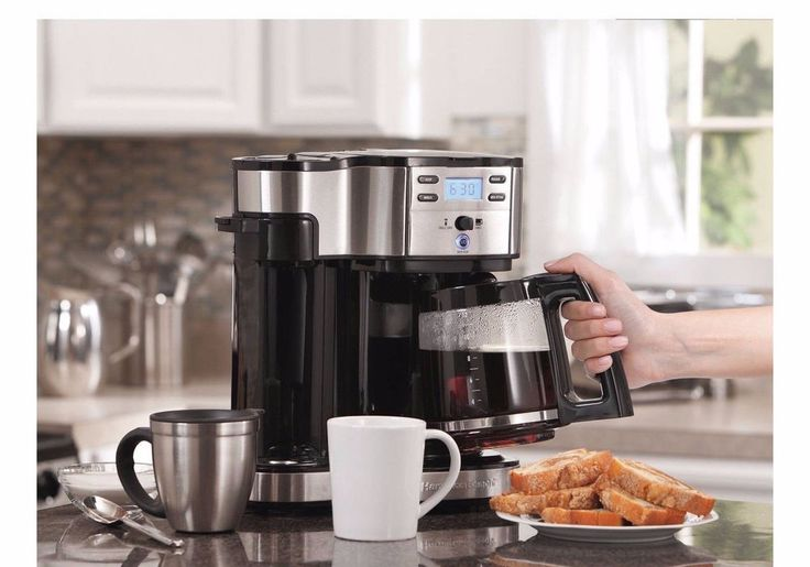 Hamilton Beach Commercial Coffee Maker Automatic 2-Way , Brewer 49980Z #HamiltonBeach
