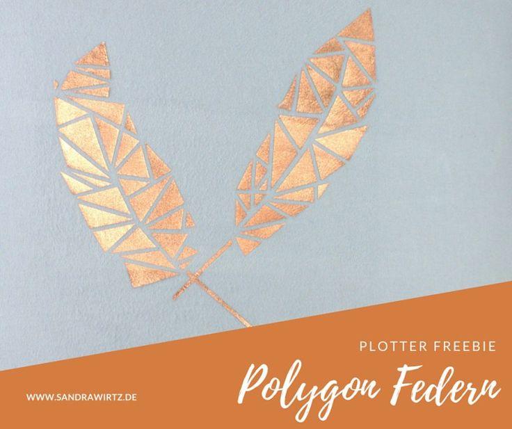 Plotter Freebie Polygon Federn