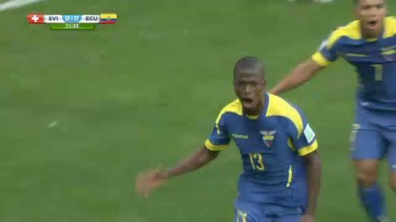 Svizzera-Ecuador 2-1