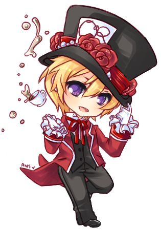 Tamaki the Mad Hatter by Antikuu.deviantart.com on @DeviantArt
