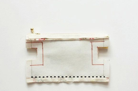 Mini Zippered Портмоне Учебник ~ DIY Учебник Идеи!