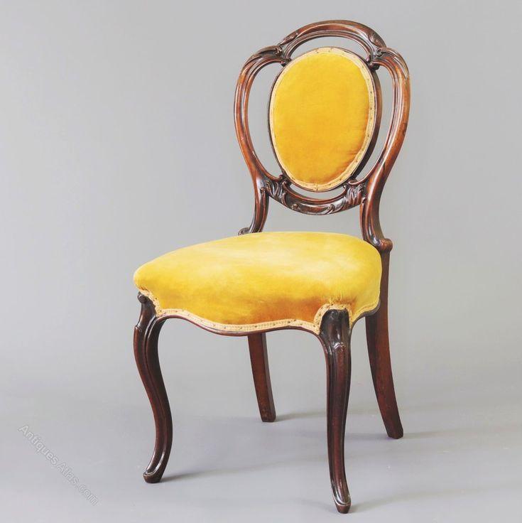 Victorian Rosewood Salon Chair C1850 - Antiques Atlas