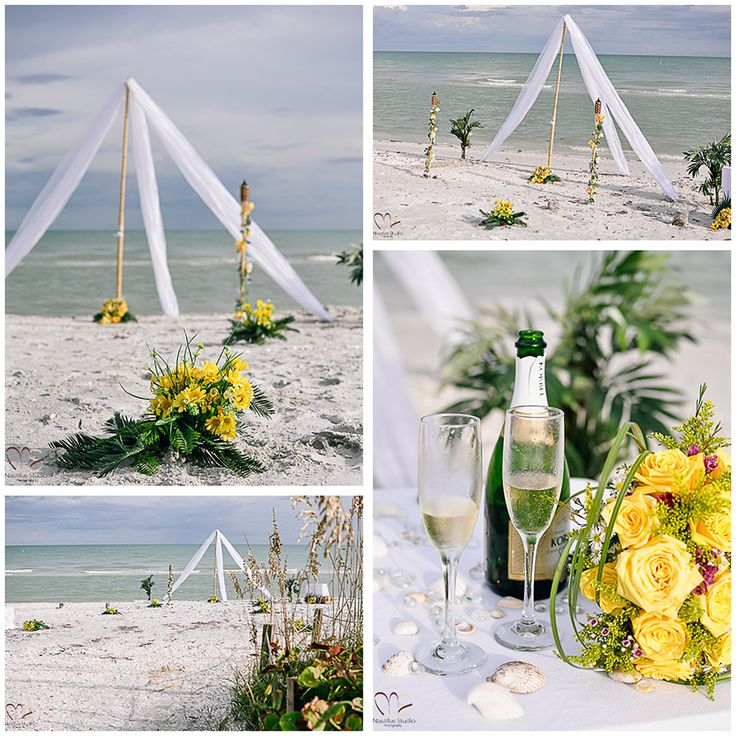 Wedding Altar Setup: 69 Best Images About Beach Wedding And Wedding Ceremony