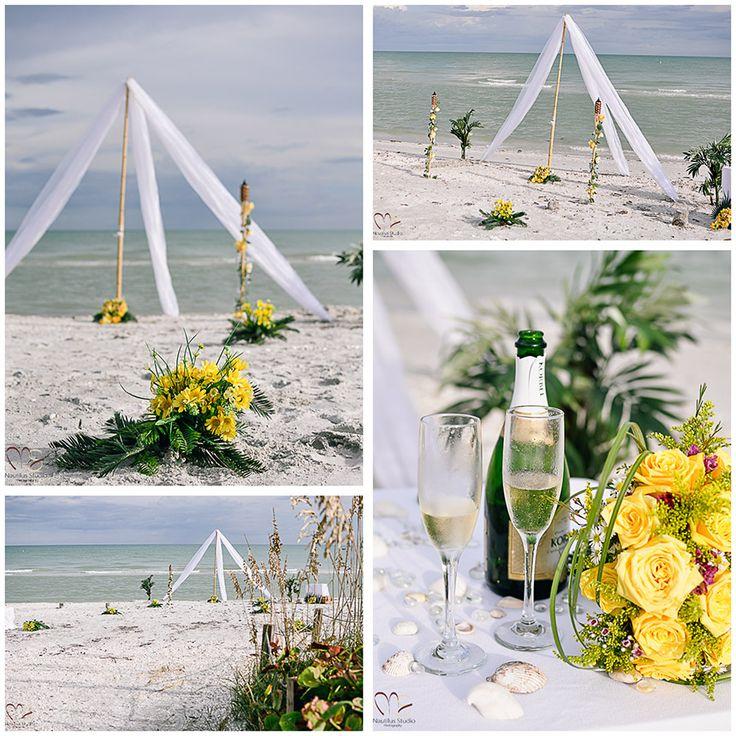 Wedding Altar Beach: 69 Best Images About Beach Wedding And Wedding Ceremony