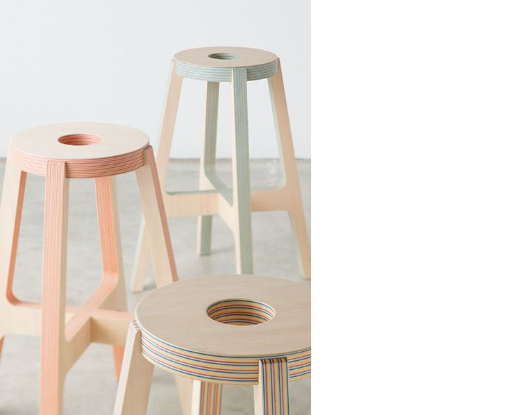 Awesome Lovely New Wood Paper Wood Stools   Drill Design From Japan Specialise In  Product Design. Their Latest Project Has Given Rise To A New Material They  Call ... Gallery