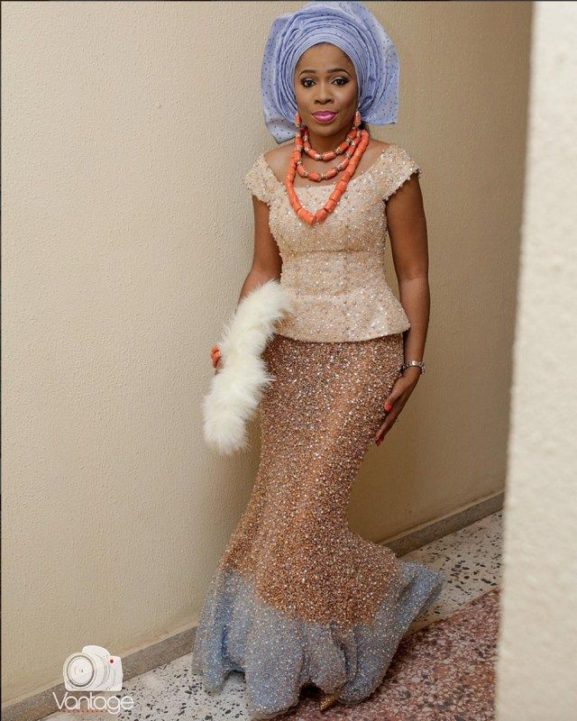 Beautiful Igbo Bride | Photo by Vantage Photography                                                                                                                                                                                 More