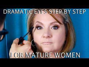 How to do Makeup for Women Over 60 Part 1| Mature Eyes Tutorial - mathias4makeup - YouTube