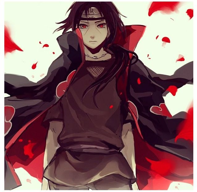 Itachi spreading his love to his brother