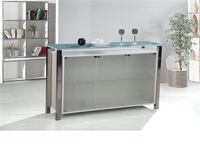 Domino Frosted 3 Door Sideboard   10308 View Our Range Of Modern And  Contemporay Sideboards At Affordable Prices.