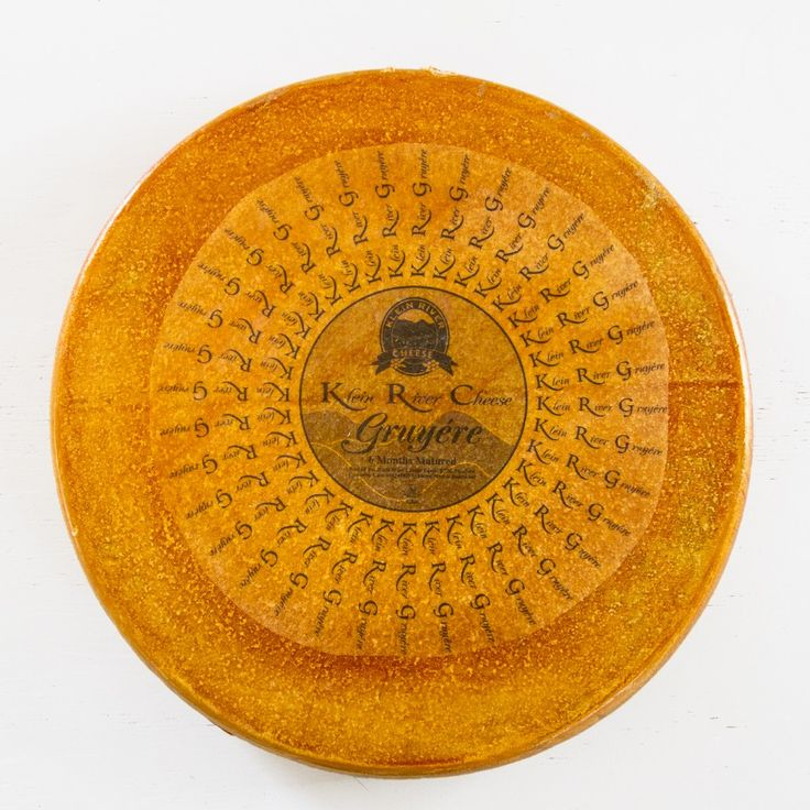 A whole Klein River wheel of cheese - 15 kilograms of deliciousness ;)