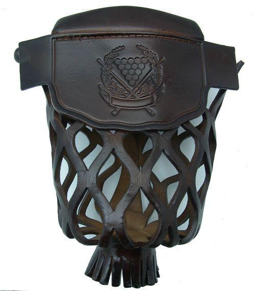Black Leather Pool Table Pocket