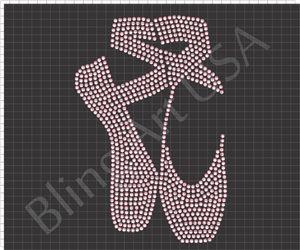 Ballet Shoes Rhinestone Design Pattern File Download