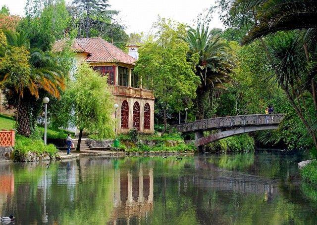 Parque Infante Dom Pedro - Cidade de Aveiro, Norte de Portugal