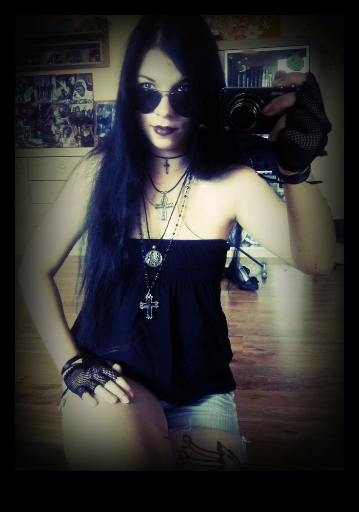 gothic - rock style