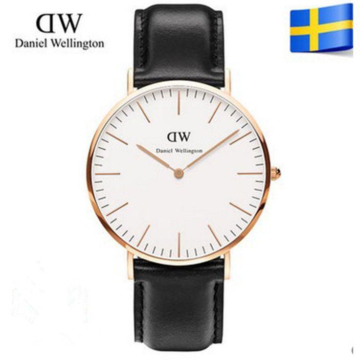 2015 Brand Luxury Style Watches rose Watch Women Men Nylon Strap Quartz Wristwatch Clock relogio masculino casual watches
