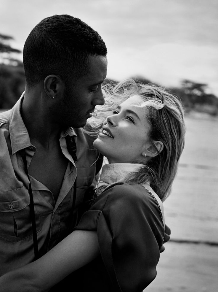 """Sunnery James & Doutzen Kroes in """"In The Land of Giants"""" for Glamour US, June 2016. Photographed by Nathaniel Goldberg"""