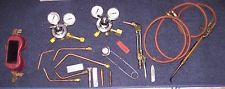 Airco Brass Welding Oxygen Torch Regulator Dual Gauge Welding Set  MANY EXTRAS