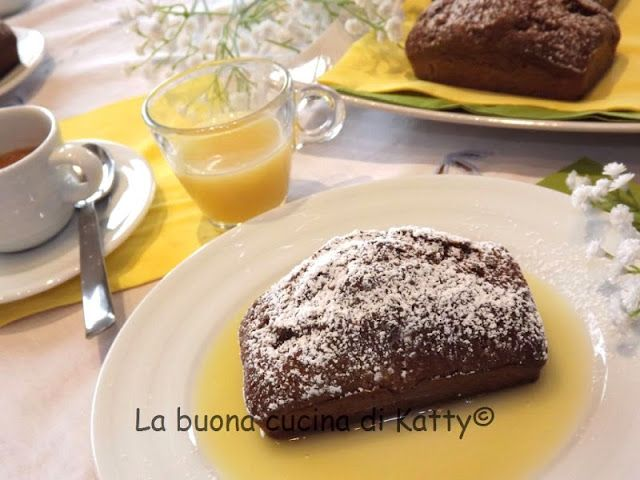 La buona cucina di Katty: Mini plum-cake al caffè d'orzo e liquore all'uovo