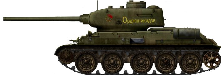 T-34/85 Model 1943, early production version, Red Guards Battalion unit, Operation Bagration, fall 1944