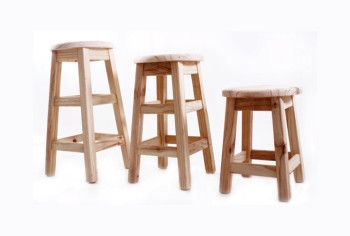 """Now these bar stools are ideal for an """"Ikea Dipping Stool"""" see the colour dipping idea on this page and get going"""